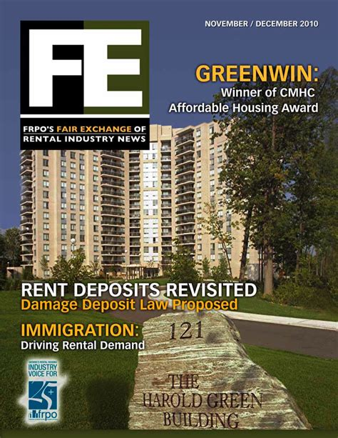 Apartment Magazine Greenwin S Toronto Apartment For Rent On The Cover Of Fe