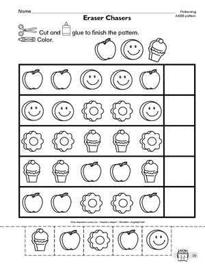 abc pattern for kindergarten abc pattern worksheets for preschool worksheets for all
