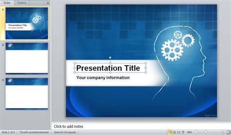 Powerpoint Template Offres De Stage Free Powerpoint Presentation Templates Downloads