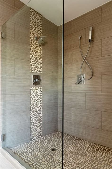 bathroom tile strips vertical accent strip shower tile home pinterest