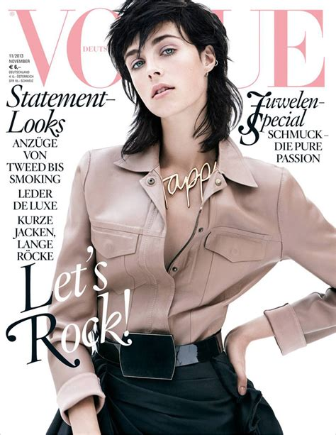 Top 10 Home Design Magazines Edie Campbell For Vogue Germany November 2013
