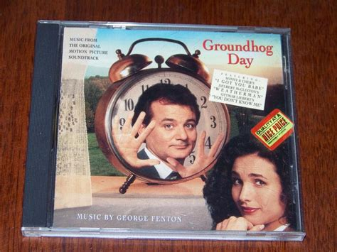 groundhog day ost quot groundhog day quot like new 1993 soundtrack cd george