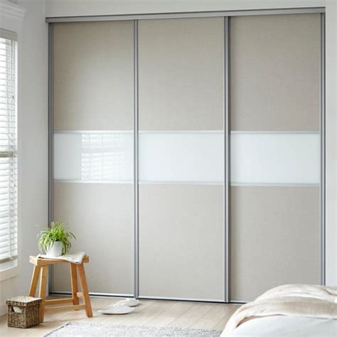 Wardrobe Door by Sliding Wardrobe Doors Kits Bedroom Furniture Diy At B Q