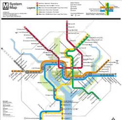 Dc Metro Map Pdf by Washington Dc Metro Map Overlay Images