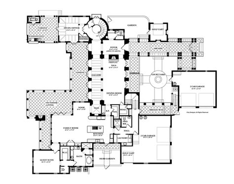 floor plan in spanish spanish revival floor plans fireplace dimensions floor