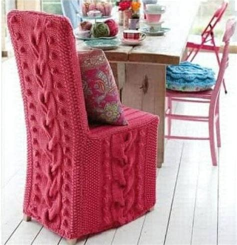 Knitting Home Decor Knitting Trends Adding Warm Personality To Modern Interior Decorating