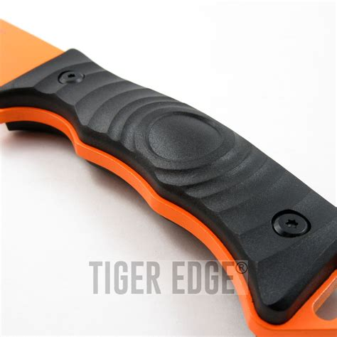tang tanto knife fixed blade tactical knife mtech orange tanto tang