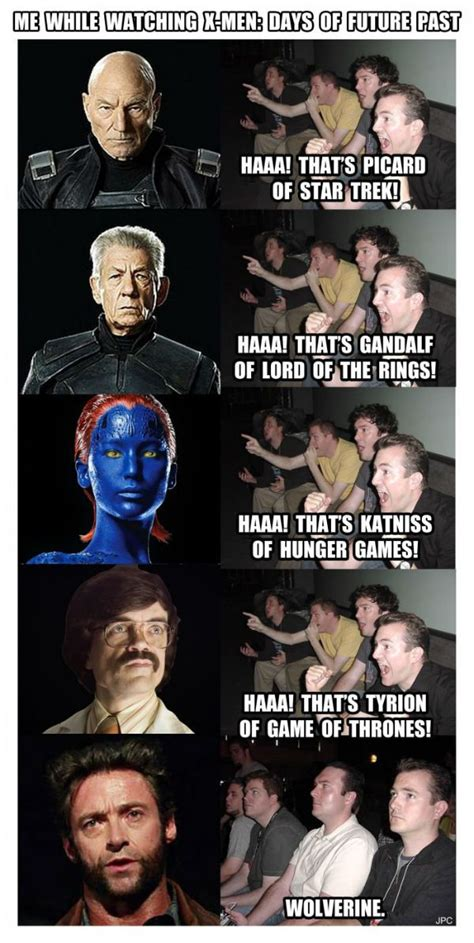 X Men Meme - me while watching x men days of future past meme collection