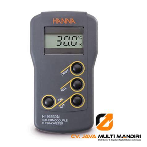 Termometer Lapangan termometer instrument hi93530n alat ukur indonesia