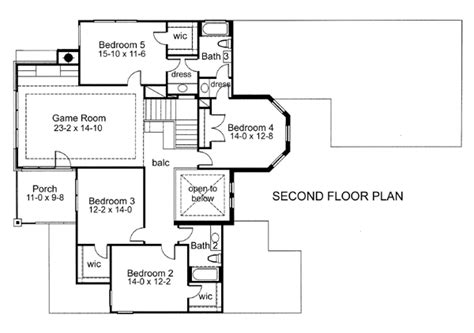 addison floor plan the addison 5977 5 bedrooms and 3 baths the house