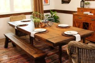 ikea dining table hack a reclaimed wood dining table ikea hack modernize