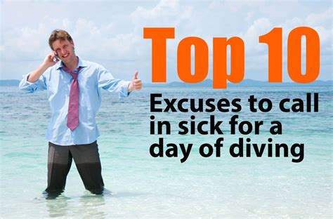 top 10 excuses to miss work sdi tdi erdi