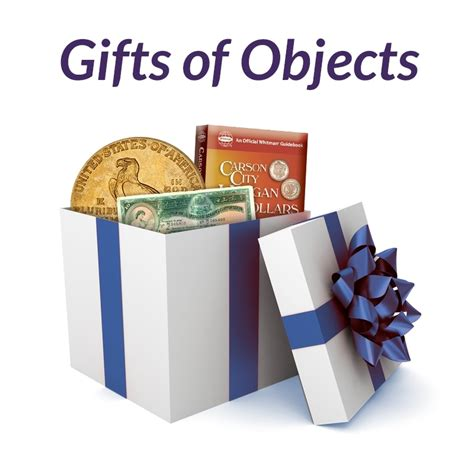 Donate Gifts - donate to the american numismatic association