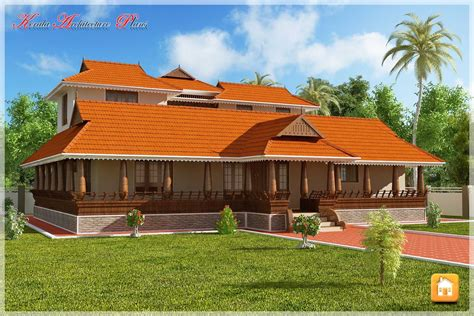 House Plans Kerala by Beautiful Traditional Nalukettu Model Kerala House Plan