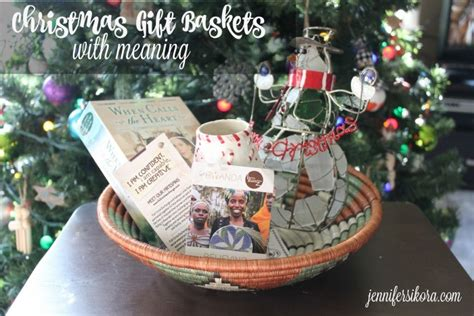 christmas gift baskets with meaning jen around the world