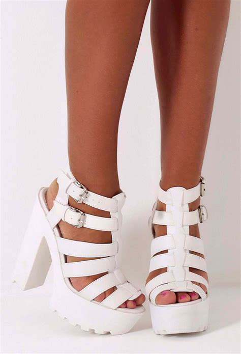 chunky white platform sandals lyssa white chunky platform sole sandals pink boutique