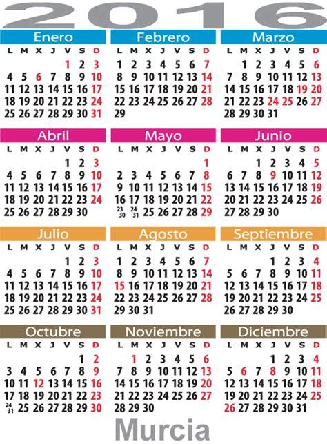 Calendario Cartagena 2015 Calendario Laboral Murcia Definanzas