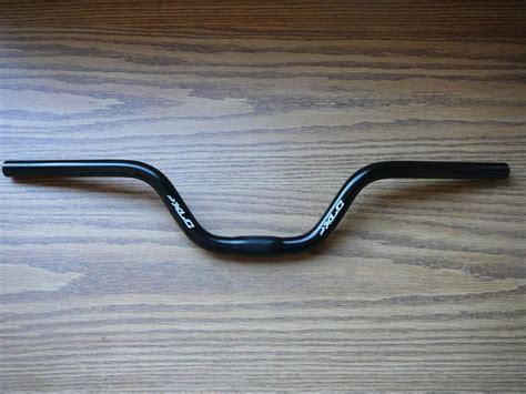 Handlebar Sepeda Mtb xlc mountain bike riser handlebar black mtb bars 4 quot rise