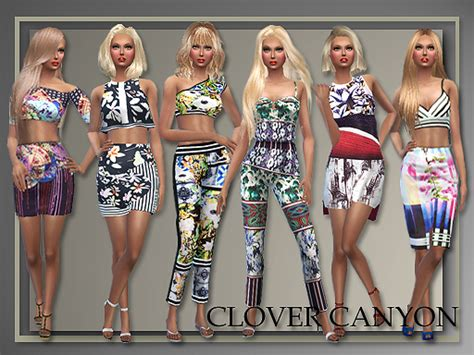 design clothes the sims 4 all about style 6 designer outfits by judie 187 sims 4 updates