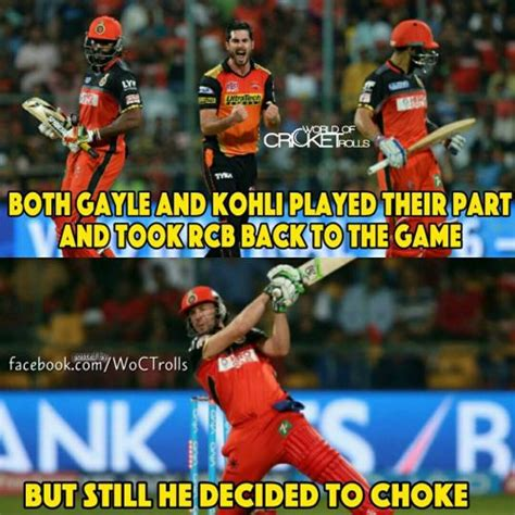 Rcb Memes - ipl 2016 memes trolls and funny photos