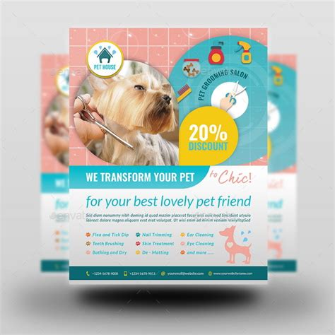 grooming flyers template grooming flyers template stackerx info