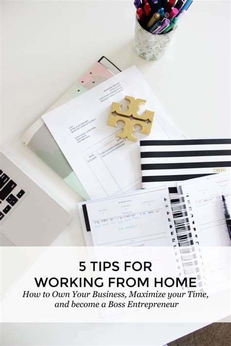 5 tips for working from home style cuspstyle cusp