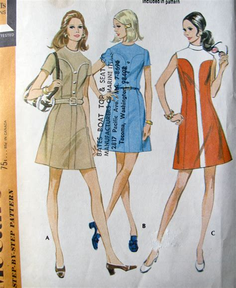 pattern for vintage dress vintage 70s mini dress pattern retro dress pattern go go