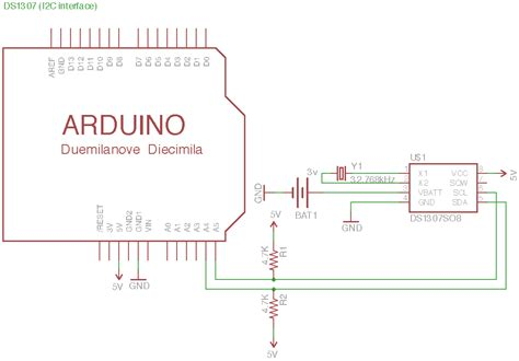 code arduino ds1307 ds1307 real time clock paja