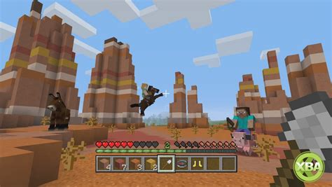 game console mod minecraft 1 8 minecraft gets a new mini game on consoles tumble xbox