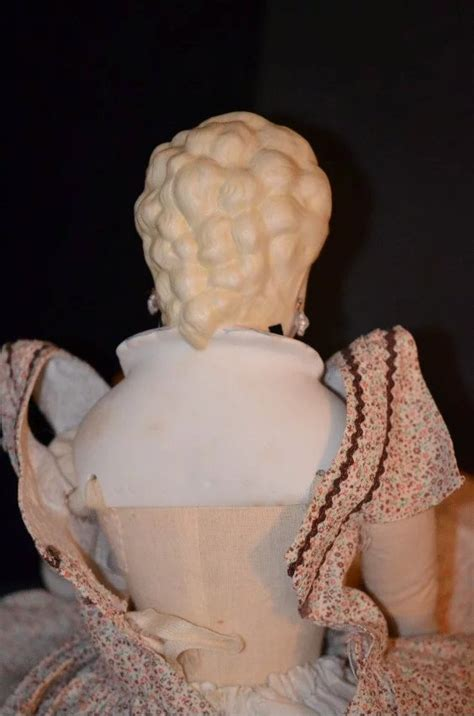 parian bisque shoulder doll clear doll bisque china parian molded shoulder
