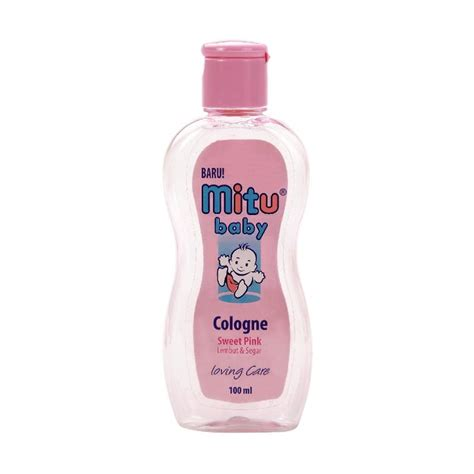 Pink Green Mitu Baby Cologne 100ml jual mitu baby cologne bottle pink 100 ml