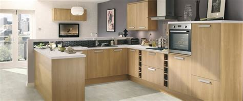 Oak Effect Kitchen Cabinets by Our Kitchens