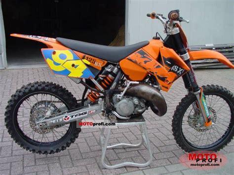 2006 Ktm 125sx Ktm 125 Sx 2006 Specs And Photos