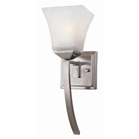 design house wall sconce design house torino 1 light satin nickel extended wall