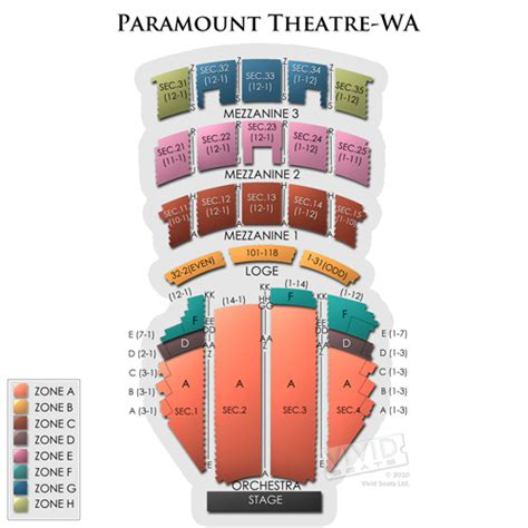 paramount theater seattle seating chart paramount theatre seattle tickets paramount theatre