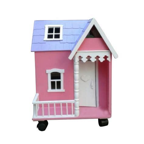 Rumah Dollhouse mainan anak rumah mini dollhouse ku ka