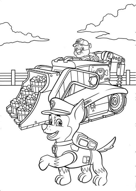 paw patrol thanksgiving coloring pages to print paw patrol 47 coloring pages for kids