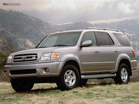 05 Toyota Sequoia Toyota Sequoia Limited 2000 05 Wallpapers 800x600
