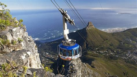 about the cableway table mountain aerial cableway