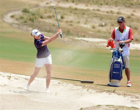 stacy lewis golf swing weather could push lpga u s open into monday