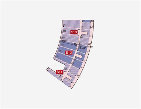 Floor Plan Home Seat Plan Nissan Stadium