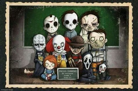 film cartoon horror serial killers horror movies saw it halloween scream