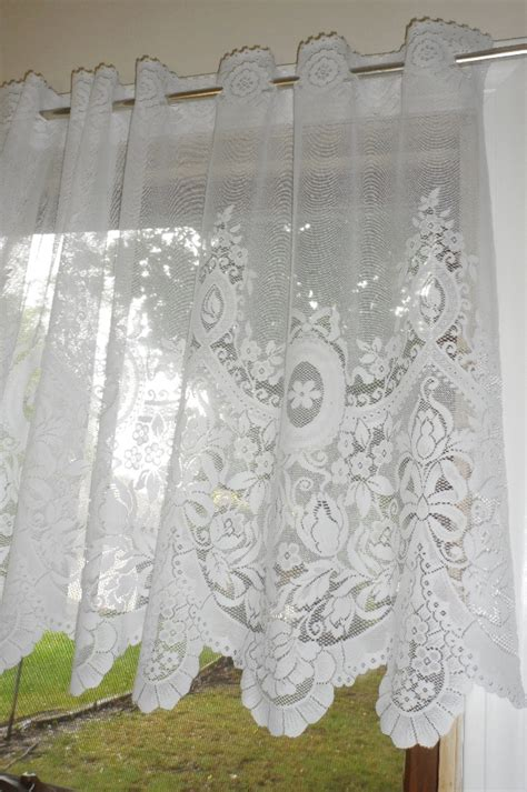 Curtains Over Bed