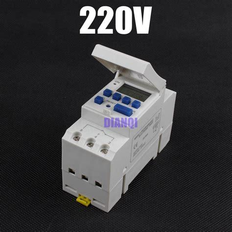 Timer Digital Programmable Listrik 220v 16a 2000 W Max buy wholesale 230v timer switch from china 230v