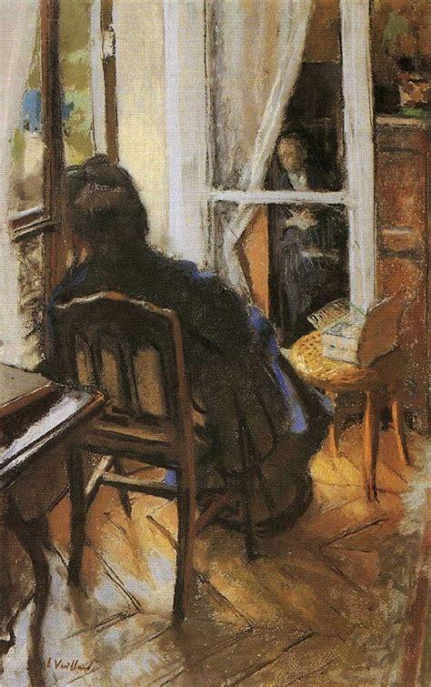 Vuillard Interiors by The Window Edouard Vuillard Wikiart Org Encyclopedia