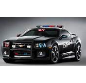 Chevy Camaro Police Car