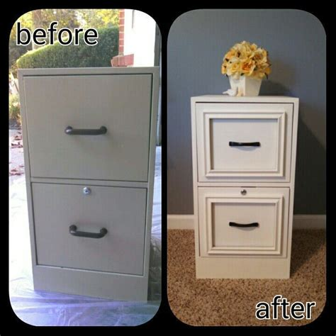 painting a rusty file cabinet best 20 file cabinet makeovers ideas on