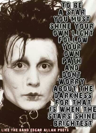 tattoo quotes by johnny depp edward sissorhandsx3