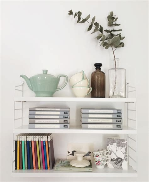 Wall Decorating Ideas For Bedrooms inspiration nils strinning s string shelving cate st hill