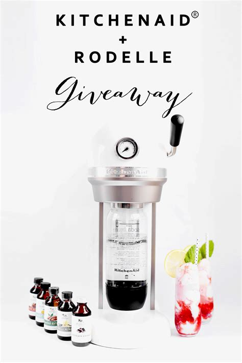Kitchenaid Sweepstakes - strawberry lemon vanilla floats and a kitchenaid and rodelle giveaway kristi
